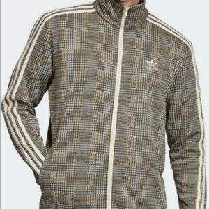 Adidas Originals Men's SMALL S Tartan Plaid